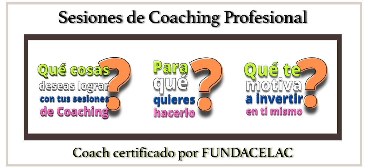 Sesiones de Coaching Profesional(FUNDACELAC)
